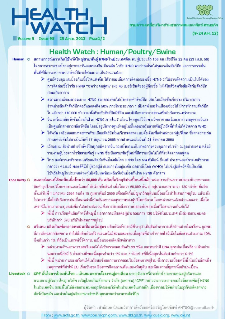 Health Watch_Issue95_Page_1