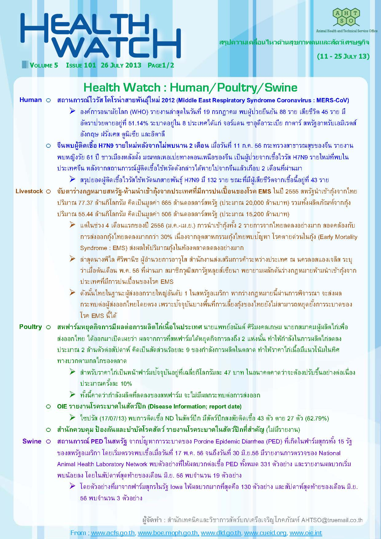 Health Watch_Issue101_Page_1
